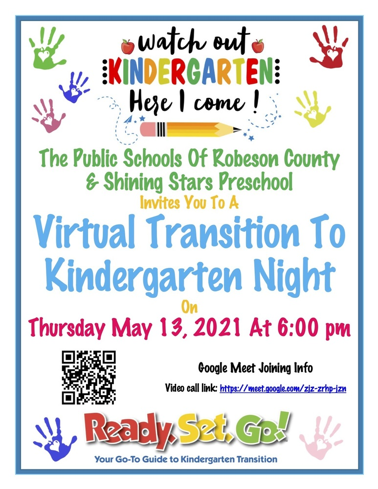 Virtual Transition to Kindergarten Night!