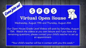 SPES VIRTUAL OPEN HOUSE