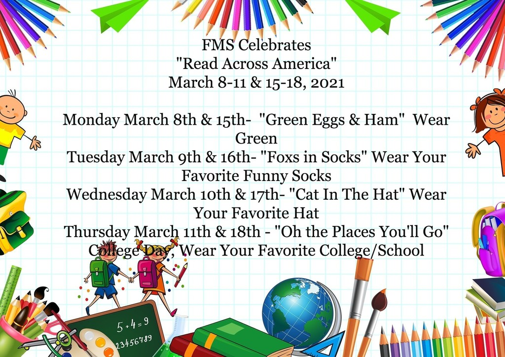 "Celebrate ""Read Across America"" with us!"