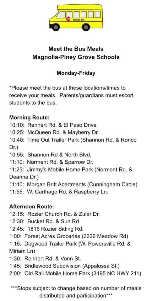 New bus routes